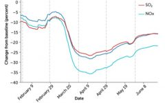 COVID-19's Effect on Greenhouse Gas Emissions