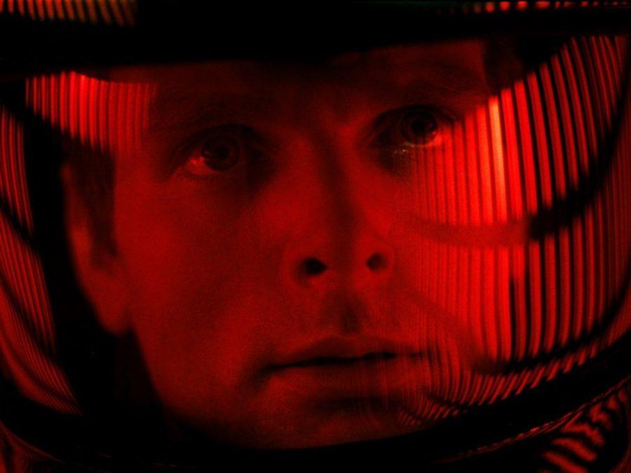 Keir Dullea in Stanley Kubrick's